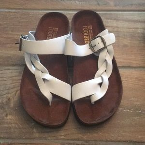 White Mountain footbed sandals